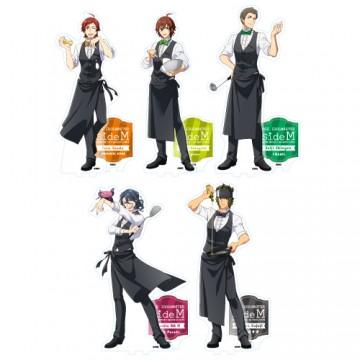 アクリルスタンドフィギュア(全5種)各1,500円