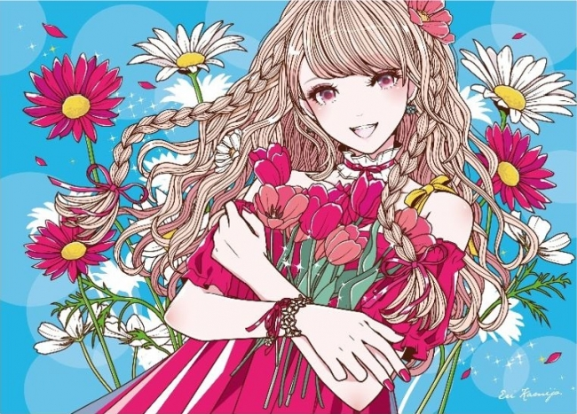 「bloomed」 ©上条衿