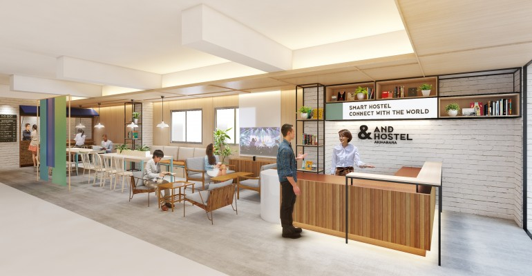 近未来のIoT空間が楽しめるスマートホステル「&AND HOSTEL」、秋葉原にオープン