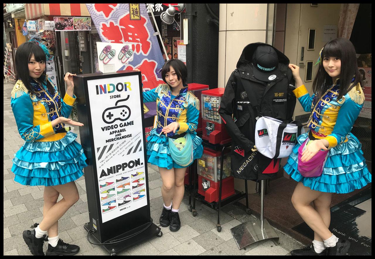 Akihabara Tourism Ambassador Kamenjoshi Akiba Report Indor Store