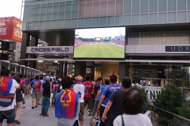 Public viewing of DAZN Presents at Akihabara UDX Vision held!