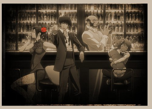 "The second collaboration cafe ""Cowboy Bebop"" is held at ""Animate Cafe""! Also new products of the theater version ""Heaven's Door"" and resale of goods of collaboration cafe first bullet!"
