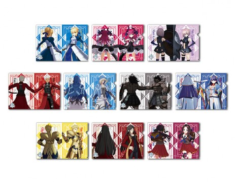 ▲ Sega Collaboration Cafe Fate / Grand Order Arcade Clear File A (all 10 types) [Size] A4