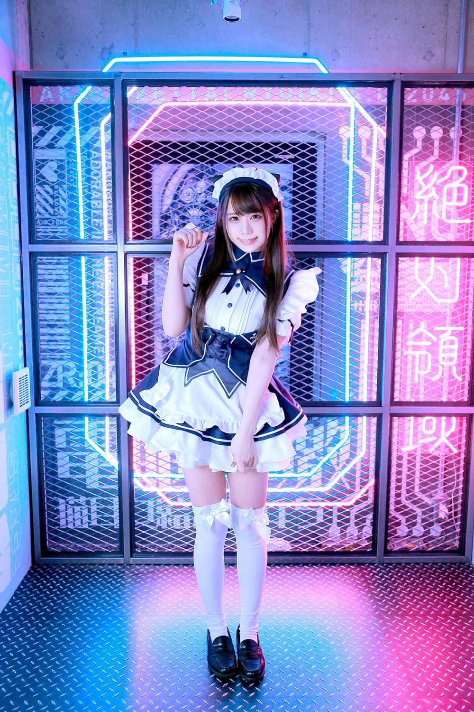 美少女×メカニック×メイドカフェ!?秋葉原にて『ARMS NOTE』とメイドカフェ『アキバ絶対領域』のコラボカフェ開催!