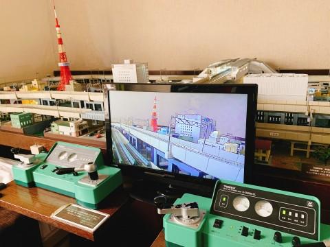 本格的鉄道ジオラマがお部屋で楽しめます